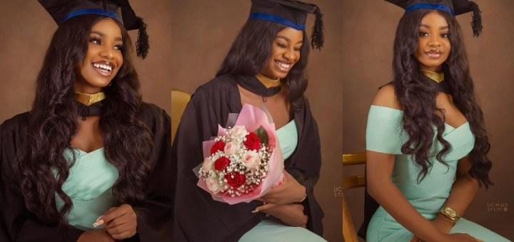 Iyabo Ojo's Daughter, Priscilla Graduates from Babcock University (Photos)