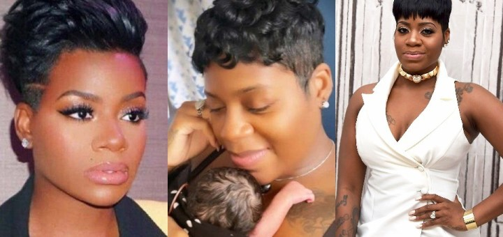 Fantasia shares First Photo of her Newborn Daughter
