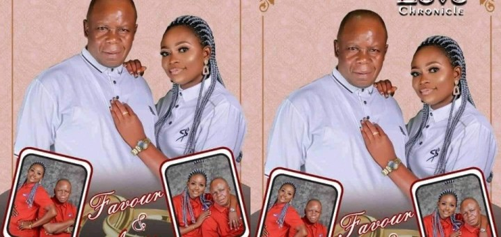 """""""Marry who fit take care of you o!"""" - Nigerians react as young Akwa Ibom Lady marries her Older Lover"""