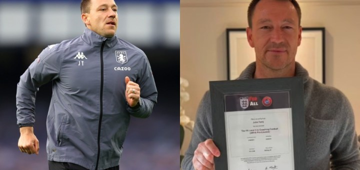 Chelsea Legend, John Terry completes his UEFA Pro Licence as he takes big step towards Managerial Job