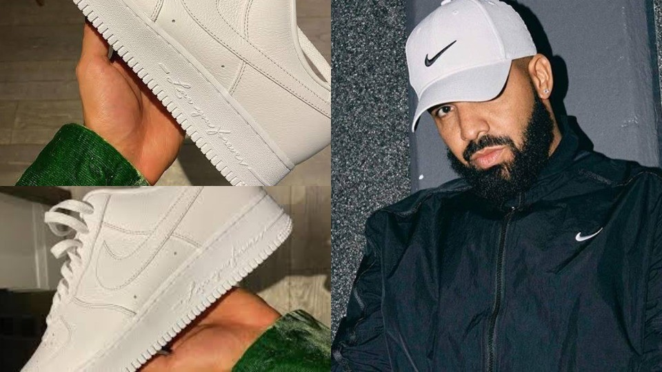 Drake teams up with Nike to launch his own Footwear Brand called 'Certified Lover Boy' (Photos)