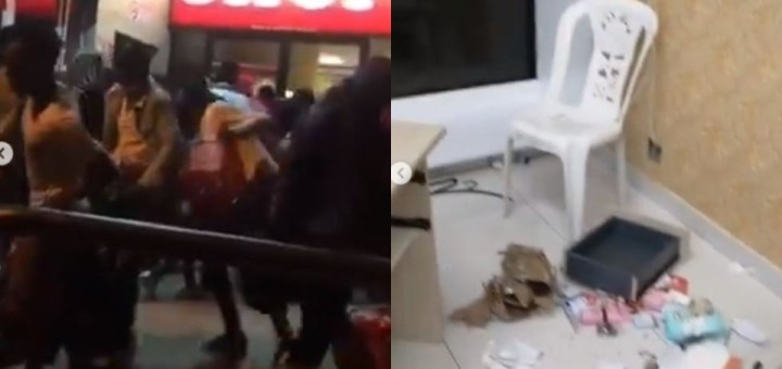 """""""I curse South Africans with tears in my eyes"""" - Nigerian lady laments bitterly after her shop was looted by protesting South Africans (Videos)"""