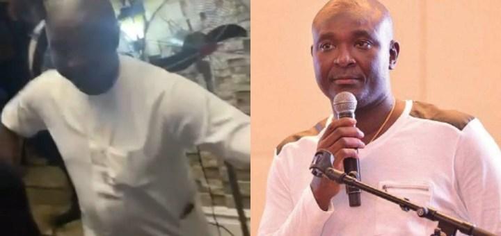 """Obi Cubana Mother's Burial: Akin Alabi explains why he sprayed """"only N9k"""" at Obi Cubana' mum's funeral"""
