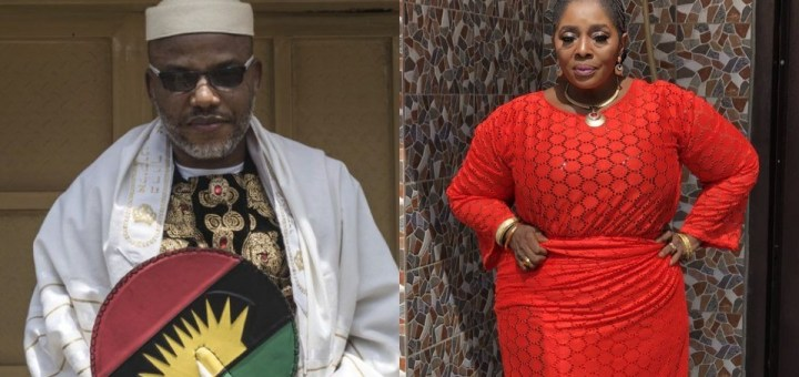 """""""Biafra is sure it will be the best country in the world with our leader Nnamdi Kanu - Actress Rita Edochie"""
