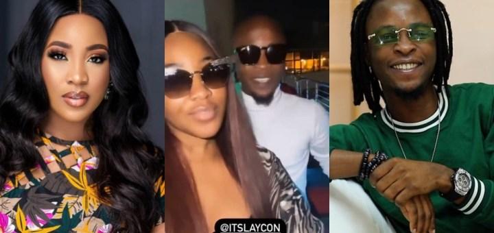 BBNaija Erica And Laycon Finally Reconcile (Video)