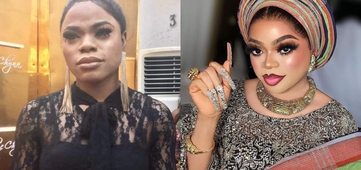 """""""If you don't use iPhone 12 don't come close to me for pictures"""" - Bobrisky warns fans"""
