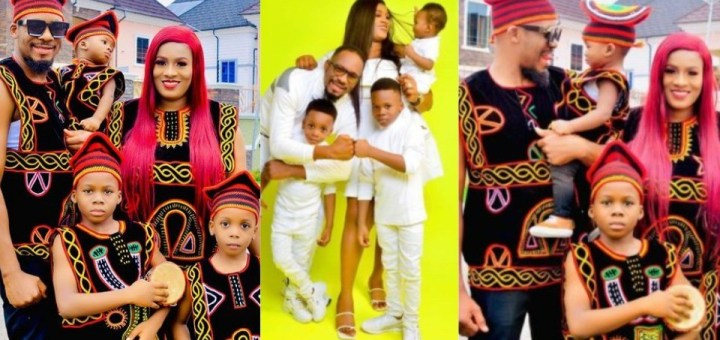 Actor, Junior Pope and wife celebrate seventh wedding anniversary