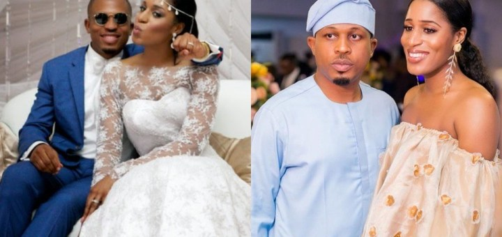''I knew shortly after we met that you were the one for me'' - Rapper, Naeto C's wife tells him as they celebrate 9th Wedding Anniversary