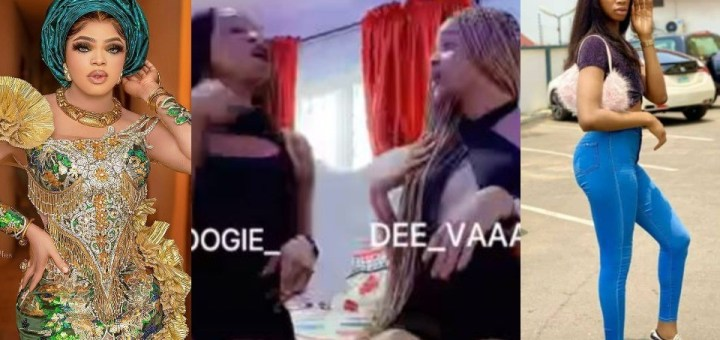 """""""Come down from your high horse"""" - Crossdressers Jay Boogie and Dee Vah drags Bobrisky (Video)"""