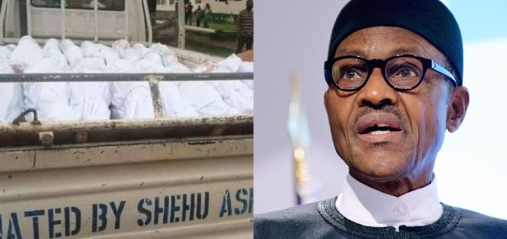 Buhari reacts to murder of 22 travellers along Plateau Highway