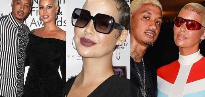 """""""I've been suffering in silence"""" - Amber Rose accuses boyfriend Alexander """"AE"""" Edwards of cheating on her with 12 women"""