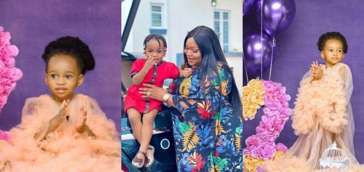 Actress Ruth Kadiri celebrates daughter's second birthday