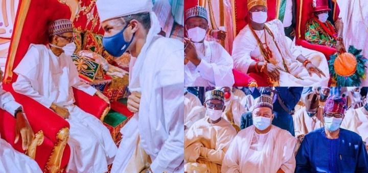 Photos of top dignitaries Yusuf Buhari Wedding