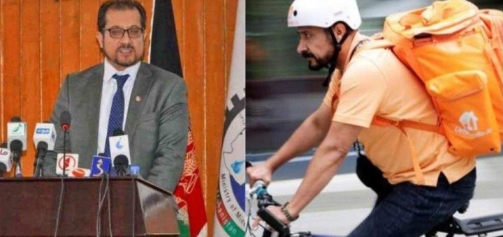 Meet former Afghan minister who is now a delivery man in Germany