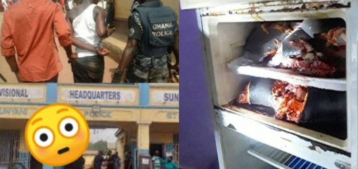 Ghanaian footballer arrested with 3 Human Heads in his Fridge
