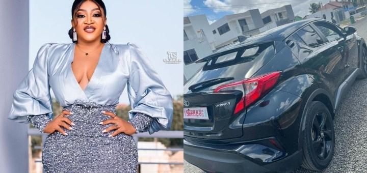 Actress, Chichi Neblett buys herself a brand new Car as Birthday Gift