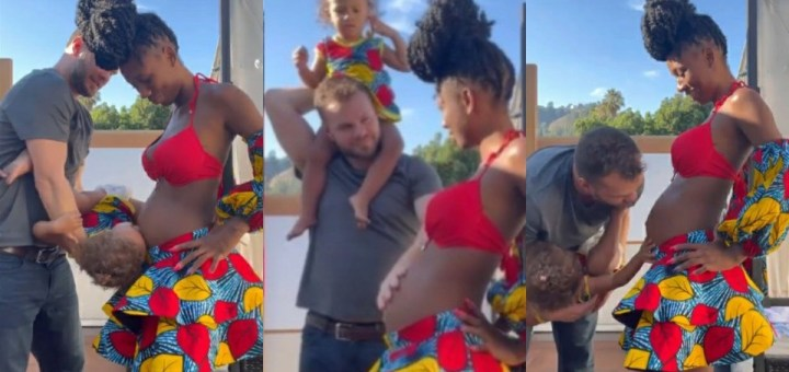 Dancer, Korra Obidi and husband expecting their Second Child (Video)