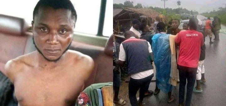Suspected Yahoo boy attempts to behead girlfriend for money rituals in Bayelsa (Photos)