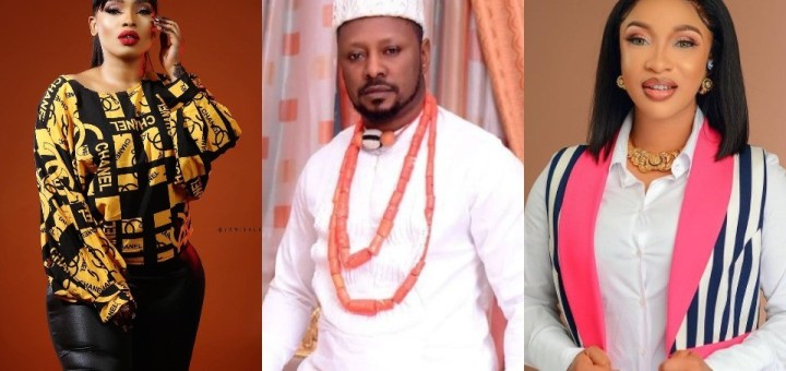 """""""Get off my page. Don't try me"""" - Actress, Halima slams Tonto Dikeh's ex-boyfriend, Prince Kpokpogri, after he followed her on Instagram"""