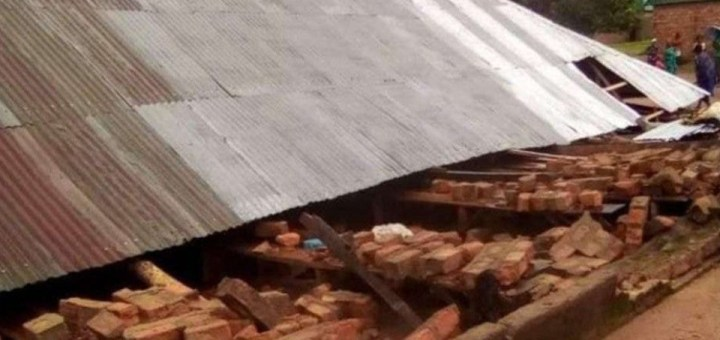 Worshippers killed as church collapses in Taraba