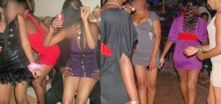 Man left in shock after bumping into his girlfriend who's into acts of prostitution on the streets of Lagos