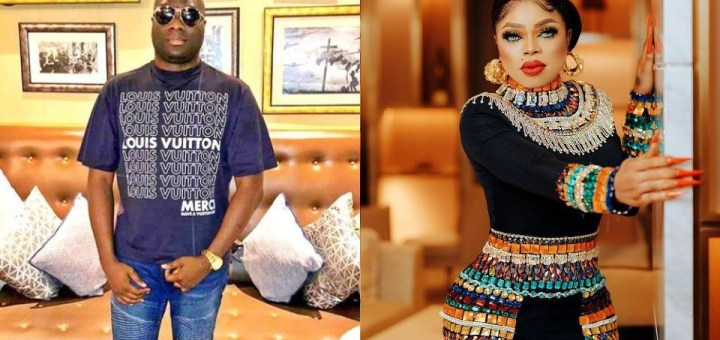 """""""I'm a married man and I don't do gays"""" - Mompha reacts to allegations he dated Bobrisky"""