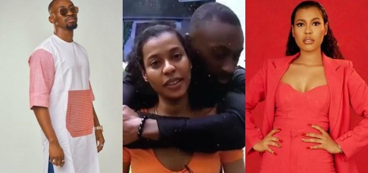 """#BBNaija 2021; """"Who is dating you?, How did you establish that fact?"""" - Nini asks Saga (Video)"""