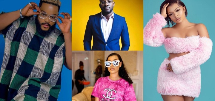 #BBNaija 2021: Liquorose, WhiteMoney, Nini & Cross win YouID Challenge; to get N1million