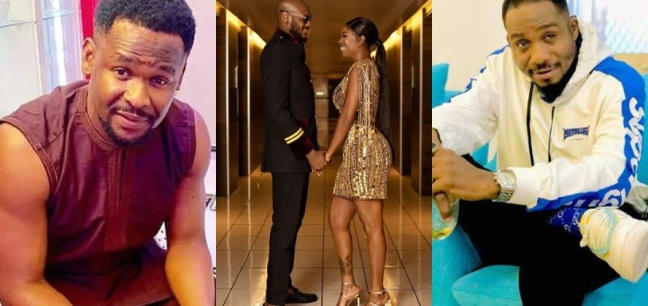 Actors Zubby Michael and Junior Pope criticize Annie Idibia for bringing her Marital Problem to Social Media