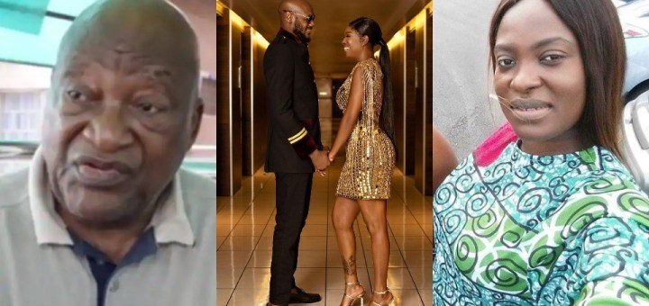 """The Idibias: """"He married my daughter"""" - Old video of Pero Adeniyi's dad claiming 2Baba married her resurfaces"""
