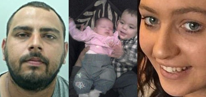 Father allegedly murdered two of his children then killed his new partner six years later