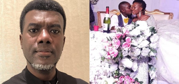 """""""Anyone who keeps their Virginity until Marriage deserves to brag about it"""" - Reno Omokri defends virgin wife"""