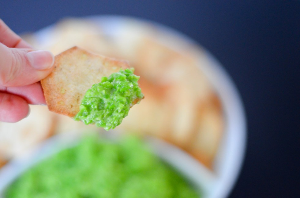 Pea Pesto Dip - Easy Pesto Recipe with Frozen Peas