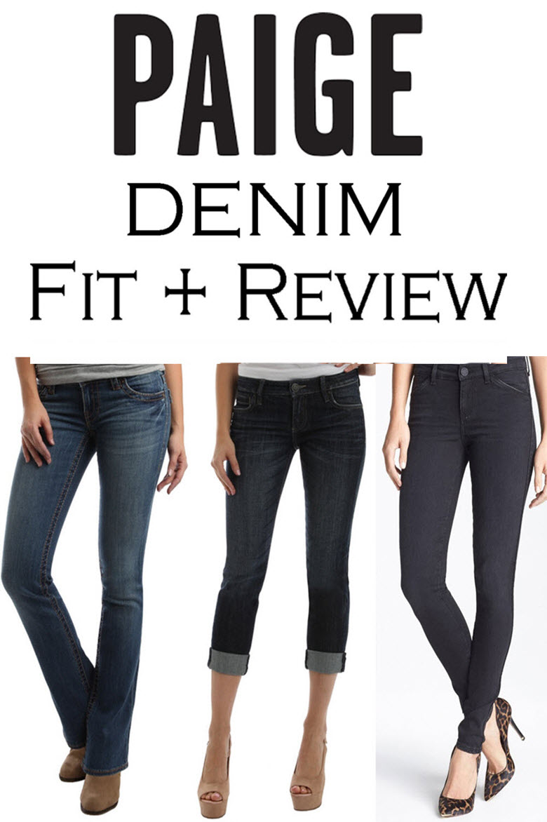 Paige Denim Fit + Review