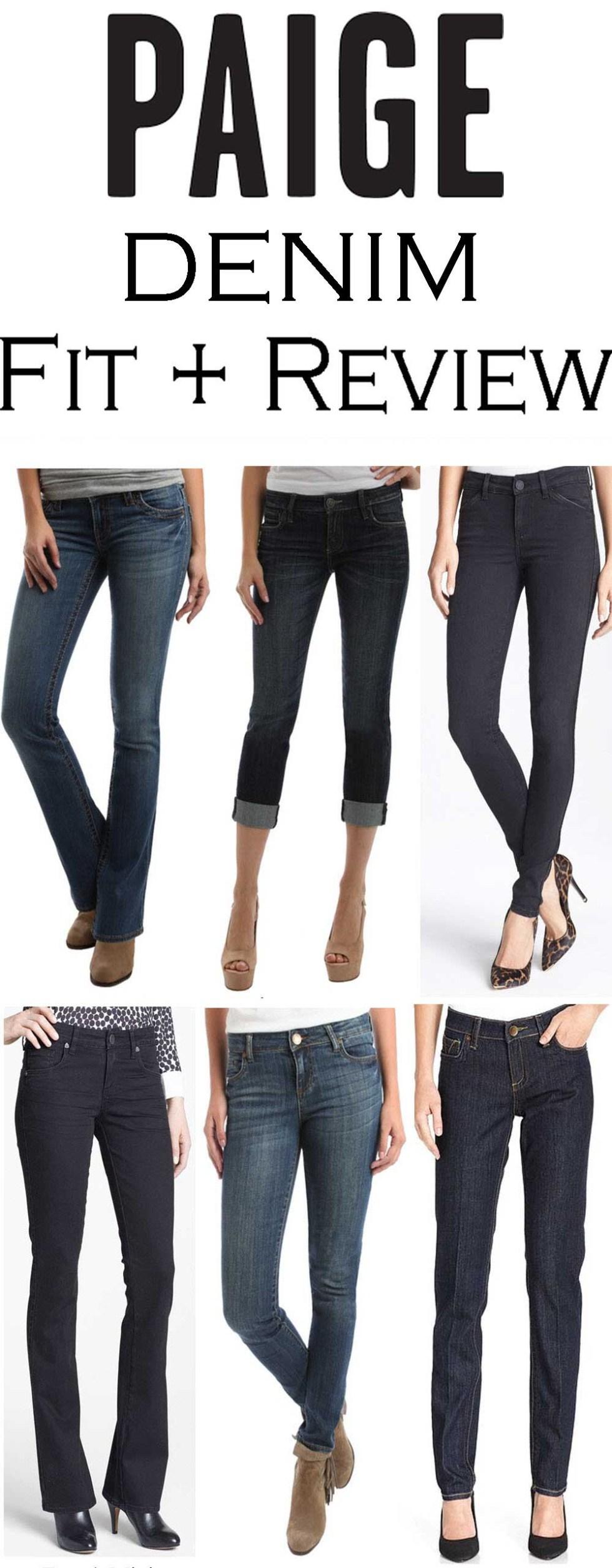 Paige Denim Fit Review + How do Paige Jeans Fit? #denim #fashionblog #fashionblogger #denim #jeansreview #denimreview #paigedenim