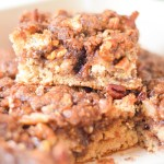 Homemade Cinnamon Coffee Cake with Streusel Crumb Topping