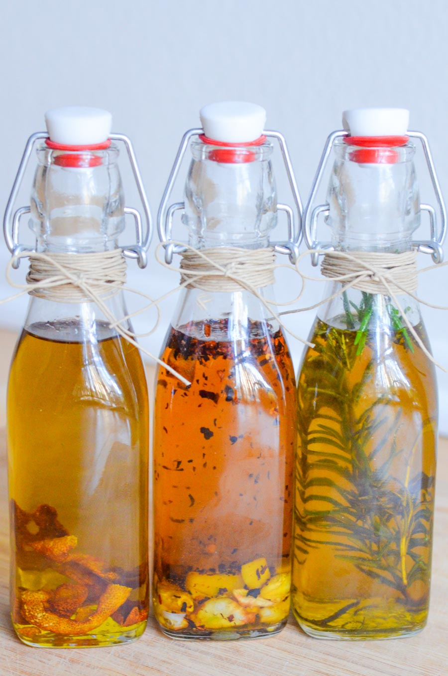 Infused Oils and Spices - The first three oils are made ...  Flavored Oils