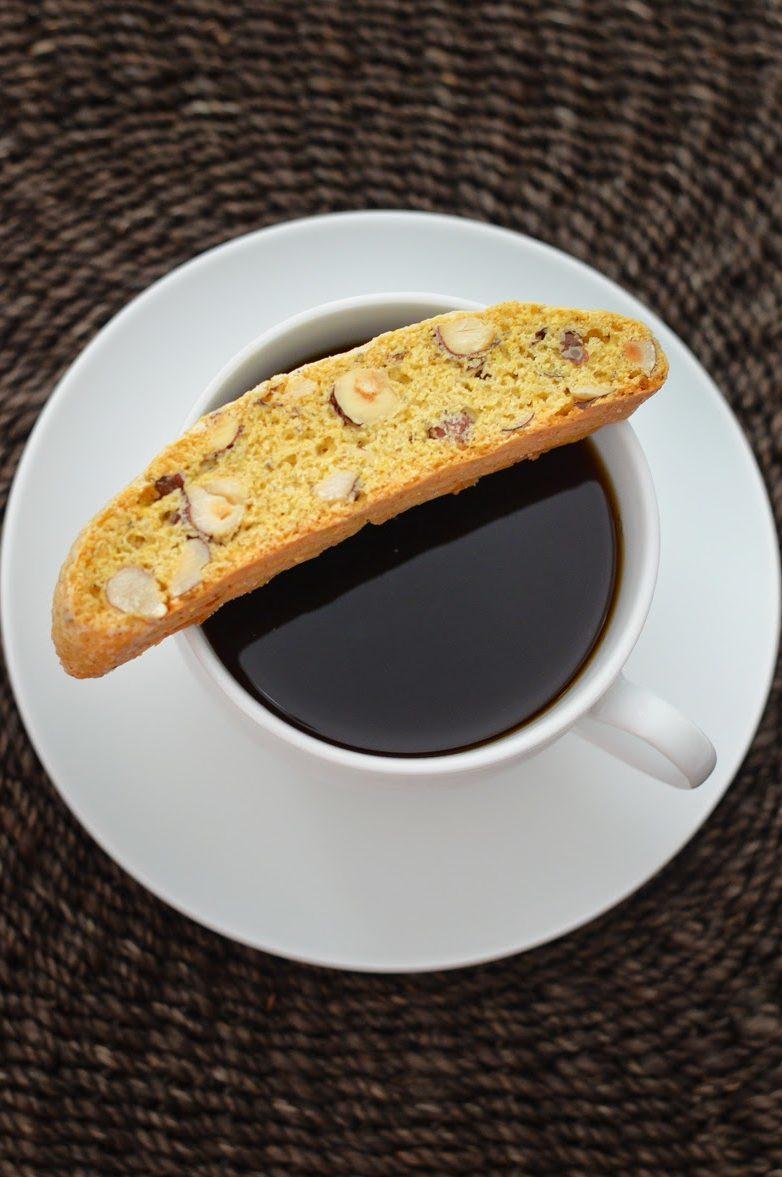 Hazelnut + Cardamom Biscotti
