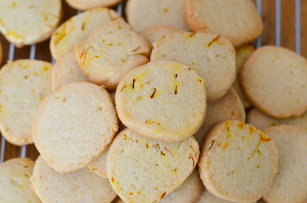 Saffron Cookies Recipe - Dessert