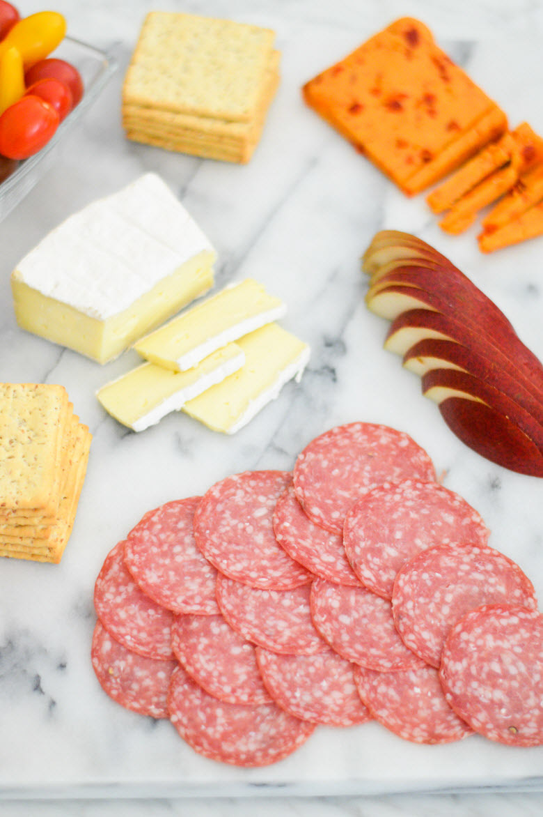 Easy Charcuterie Plate via Trader Joe's {under $30}