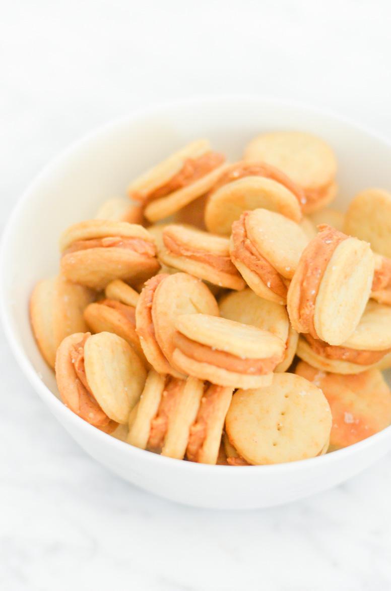Homemade Ritz Peanut Butter Crackers