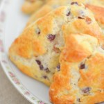 Brie Scones w. Champagne Grapes Recipe