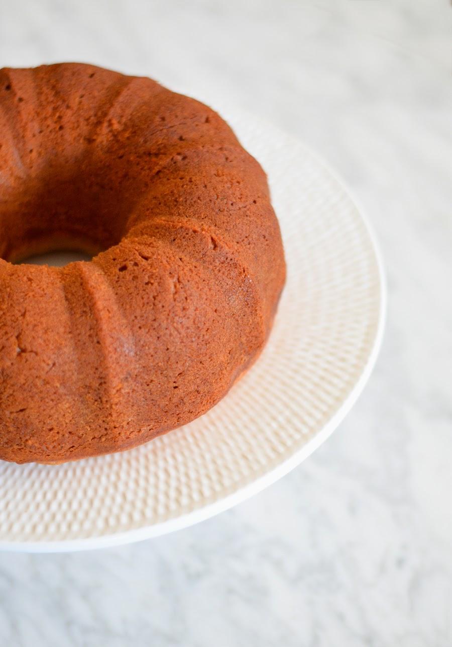 Honey Cardamom Bundt Cake