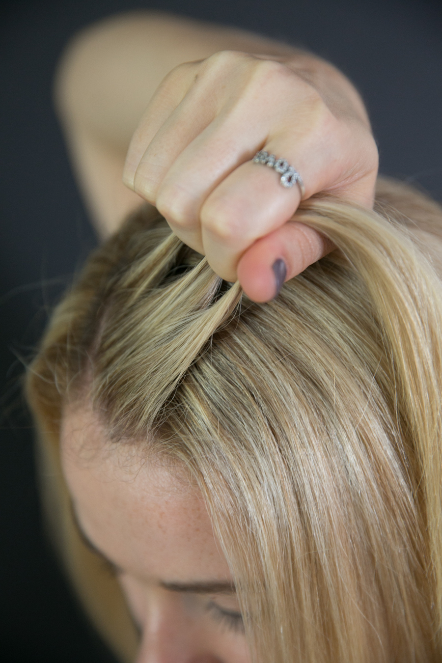 Easy Small Side Braid W Step By Step Photos Luci S Morsels