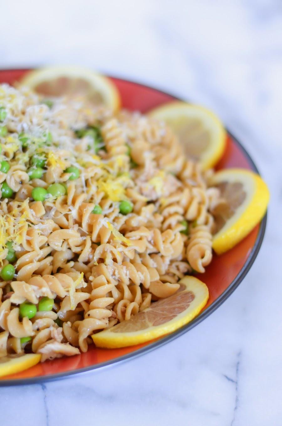 Canned Tuna Recipe | Garlic Lemon Pasta
