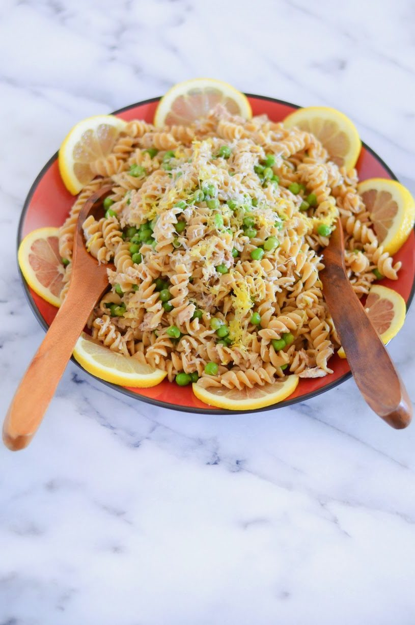 Canned Tuna Recipe Garlic Lemon Pasta Luci S Morsels