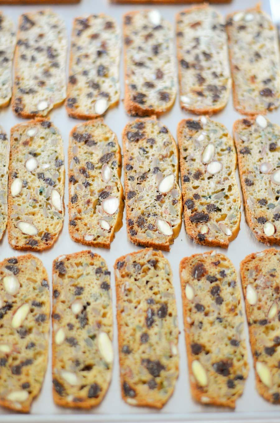Trader Joe's Crackers with Raisins + Rosemary - Healthy Cracker Recipe