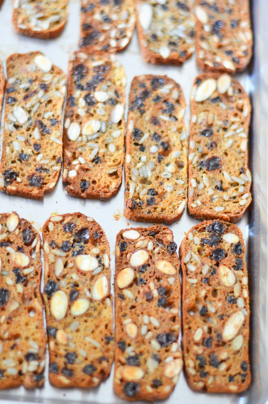 Trader Joe's Crackers with Raisins + Rosemary Copycat Recipe - Healthy Cracker Recipe