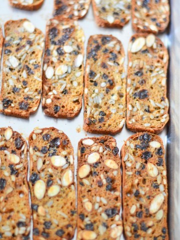 Trader Joe's Crackers with Raisins + Rosemary Copycat Recipe - Healthy Cracker Recipe