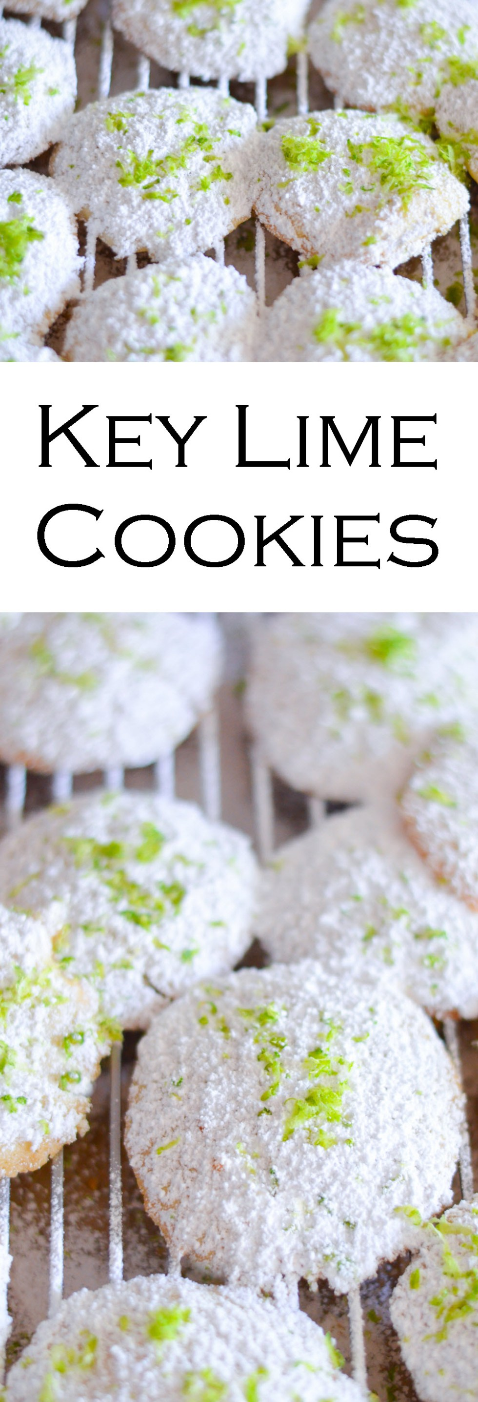 Soft, Buttery Key Lime Cookies